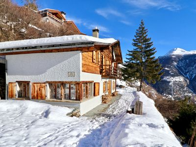 Photo for Beautiful chalet for 10 people in Vercorin