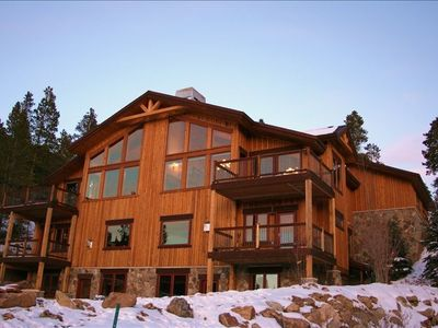 Photo for Amazing Breckenridge Mountain Home, Incredible Views, Hot Tub, Fire Pit, Shuttle