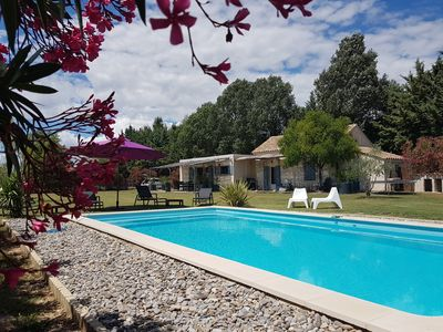 Photo for A country house in the heart of Provence with PRIVATE POOL