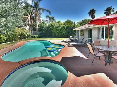 Photo for Secluded Pool & Spa and Mountain Views, Centrally located