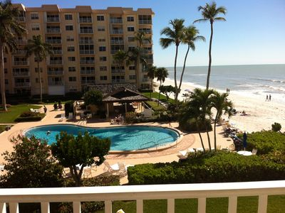 Photo for Oceanfront 2 Bedroom Condo steps from the sand!