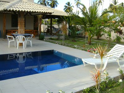 Photo for Cozy Beach House in Cond. Closed 300m from the sea