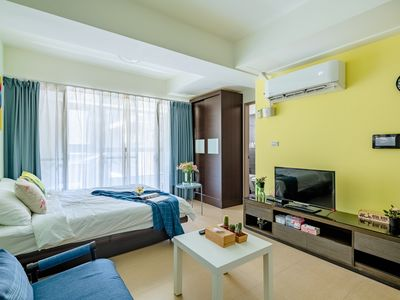 Photo for Luxury Studio, Central Taipei ,100% privacy! 45% Off For 28+ days Stay.