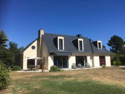 Photo for Independent big recent house, 400m from fine sandy beaches in Southern Finistere