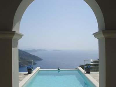 Photo for Agrepavlis Villa -  Exclusive property with breathtaking views