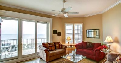 Photo for Beautiful Oceanfront Condo with LARGE private balcony!
