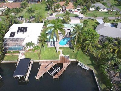 Photo for 33% OFF! -SWFL Rentals - Villa Emerald - 2-Story Pool Home with 5 BR's and Gulf Access