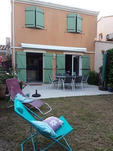 Photo for ANTIBES Villa 4 to 6 people SEA ON FOOT! GARDEN TERRACE IN THE GREAT QUIET