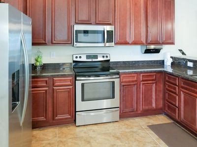 Kitchen - Your rental will include the TurnKey HomeDroid Tablet. This electronic directory provides helpful information (e.g., TV instructions) and area activities/suggestions.