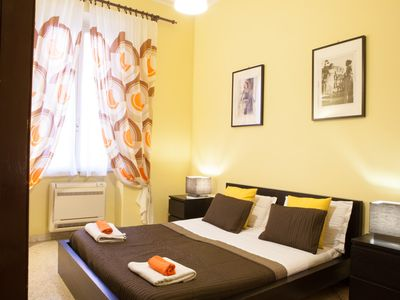Photo for Bright 3bdr apartment 1078 sqf in the center of Rome next to the metro