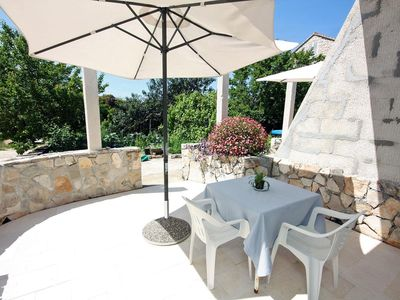 Photo for One bedroom apartment near beach Pomena (Mljet)