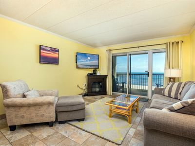 Photo for Beautiful ocean views from living area and master bedroom
