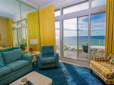 Photo for Bright and Cheerful Ocean View Unit With Balcony Two Bedroom And Two Bathroom