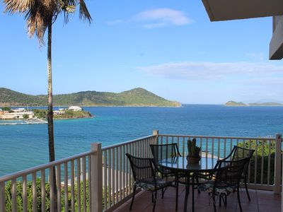 Great location, wrap around balcony. Lower $ avail. for longer stays.B19