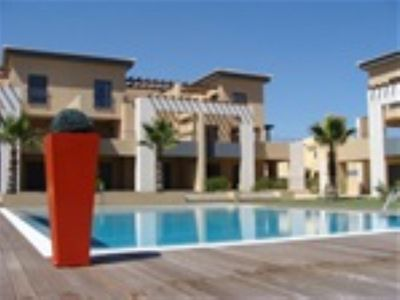 Photo for Ground floor apartment in the very popular resort of Vilamoura.