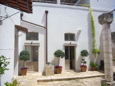 Photo for Abode of the Wind - Typical house Salento with private courtyard garden and terrace