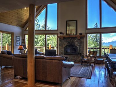 Photo for Sandpoint area mountain home with beautiful views, and peaceful serenity.