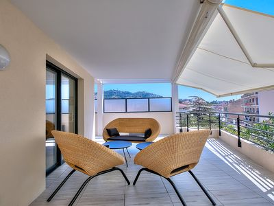 Photo for Splendid Rooftop Apartment - Jacuzzi - Air Conditioning - WIF I- Parking