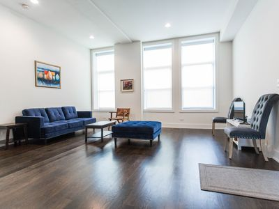 Photo for Stunning Wicker Park Two Level Home with Parking and Deck
