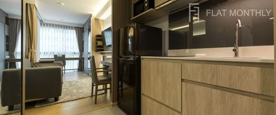 Photo for 🏢 Modern 1-BR at BTS Thonglor by FlatMonthly