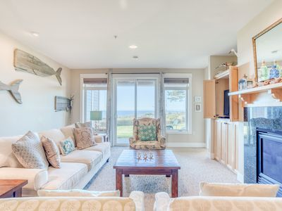 Photo for Modern, Ground-Level Oceanfront Condo Near Nye Beach, Newport has Three Bedrooms