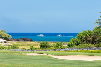 Beautiful ocean views across the 18th Fairway.