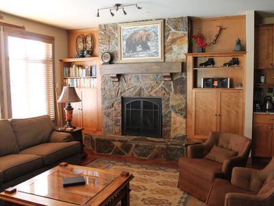 Photo for Ski in Ski out 2 Bedroom Executive Condo in Beautiful Big White Ski Resort, BC