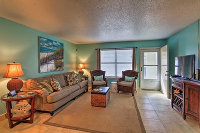 Begin your Destin holiday at this 2-bed, 2.5 bathroom vacation rental townhome.