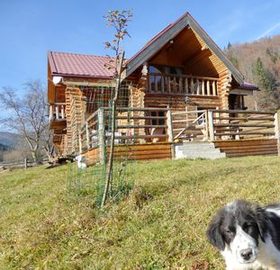 Photo for romantic log cabin in the Carpathians
