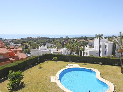 Photo for 1101 Panorama Seaview Cozy Penthouse large pool area - Two Bedroom Apartment, Sleeps 4
