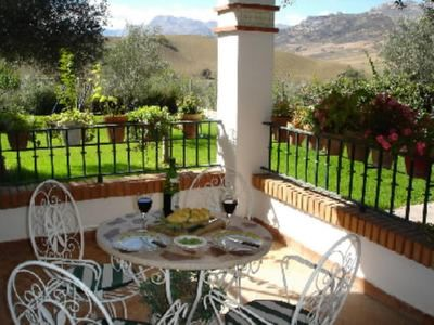 Photo for Villa with spectacular mountain views, perfect for family of four or five