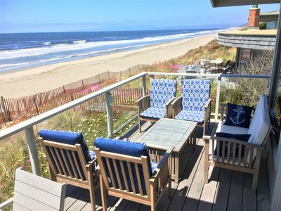 NEW! Tons of deck furniture to enjoy the views and ocean breezes!