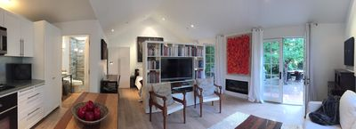 Photo for Contemporary Designer Cottage, Garden View, 3 Blocks From From The Plaza