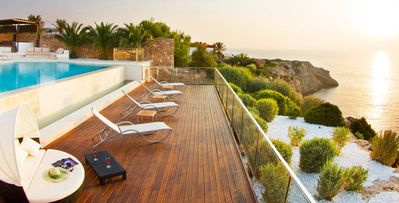 Photo for Mares - 6 bd modern ocean view villa with pool and terraces in Calo d'en Real