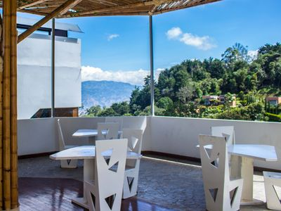 Photo for Stunning view in Medellin hills, Icon House - Standard 1