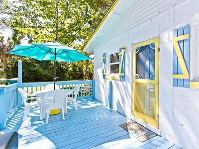 Photo for Cozy Cottage: 2 BR / 1 BA home in Tybee Island, Sleeps 4