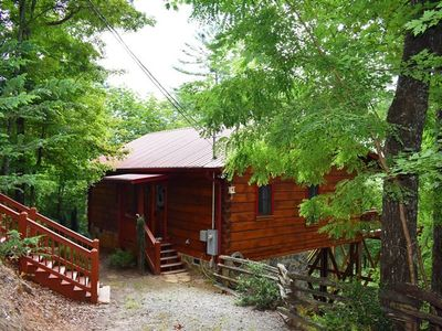 Photo for Whitetail Retreat Cabin, GREAT LOCATION, short distance to Blue Ridge or Ellijay, GA