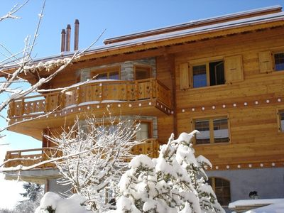 Photo for Reine des Prés A1 A high standing apartment with 3 rooms in a new residential chalet for maximum 6 p