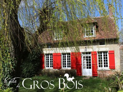 Photo for The Cottage Gros Bois *** 4-6 person, near Guédelon