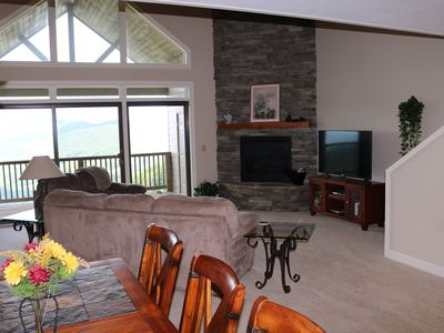 Photo for Luxury 2 Bedroom Condo with an Amazing View of the Blue Ridge Mountains