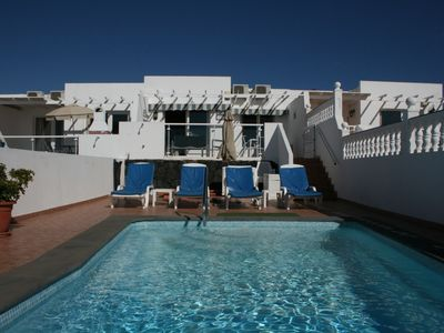Photo for Villa 2 bedrooms, with private heated pool, sea and mountain views, WIFI