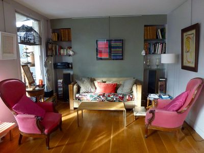 Photo for Apartment/ flat - PARIS, Luxury Apartment 105m2 with arbored terrace in the heart of the cityLuxury Apartment