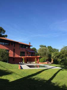 Photo for EXCEPTIONAL BASQUE SIDE SEA SWIMMING POOL FRENCH HEATED SWIMMING POOL