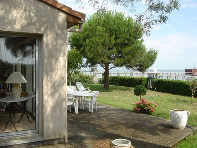 Photo for VILLA 100m2 with beautiful views and direct access to the sea, 3ch, sdb, séj, in park closed