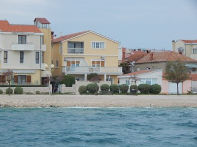 Photo for Holiday apartment with air conditioning, beach at 10 m