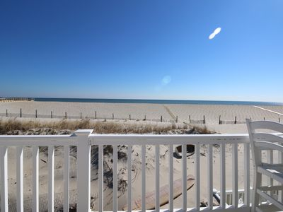 Photo for Classy Oceanfront w/Stunning Views! Directly on Beach