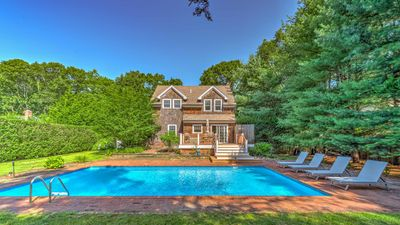 Photo for New Listing: Newly Renovated Heated Pool, 7 Mins to Main St East Hampton & Sag Harbor