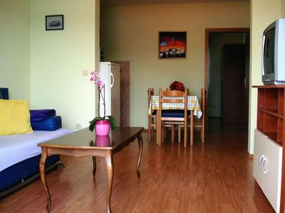 Photo for One bedroom apartment with balcony and sea view Mastrinka (Čiovo)