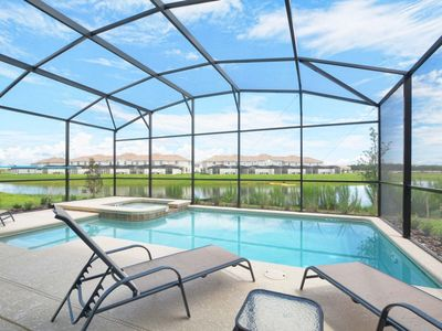 Photo for GREAT LOCATION, GORGEOUS LAKE VIEW, GAMEROOM, JACUZZI,2 MASTER SUITES, FREE WIFI