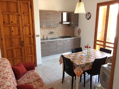Photo for Comfortable central apartment in Torre dell'Orso a few steps from the beach